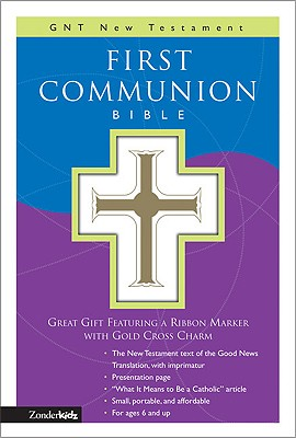 Image for GNT, First Communion Bible: New Testament, Leathersoft, White: GNT New Testament