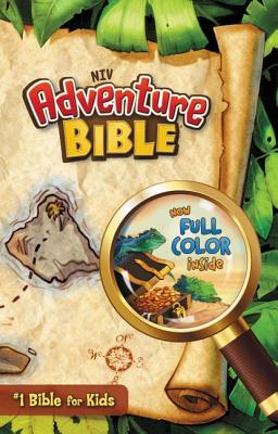 NIV Adventure Bible - Hardcover, Edited by Dr. Lawrence O. Richards