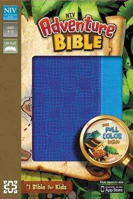 "Image for ""NIV Adventure Bible, Italian Duo-Tone, Electric blue/Ocean blue"""