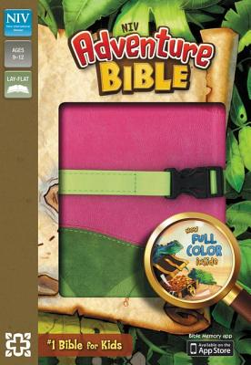 Image for Adventure Bible, NIV (Pink/Green)