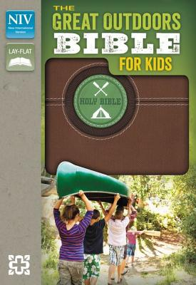 NIV, The Great Outdoors Bible for Kids, Imitation Leather, Brown, Red Letter, Zondervan