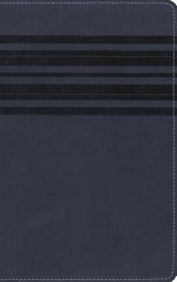 "Image for ""''NIrV Holy Bible, Large Print, Italian Duo-Tone, Slate Blue''"""