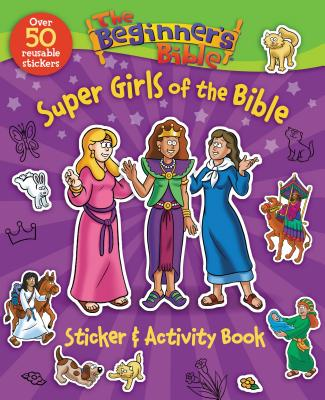 Image for The Beginner's Bible Super Girls of the Bible Sticker and Activity Book