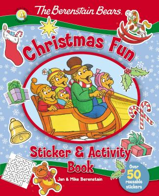 Image for The Berenstain Bears Christmas Fun Sticker and Activity Book (Berenstain Bears/Living Lights)