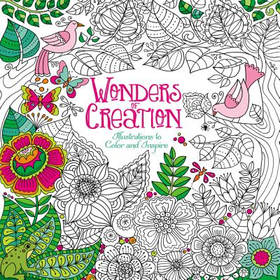 Wonders of Creation: Illustrations to Color and Inspire, Zondervan