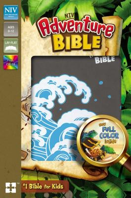 Image for NIV Adventure Bible, Imitation Leather, Gray, Full Color Interior