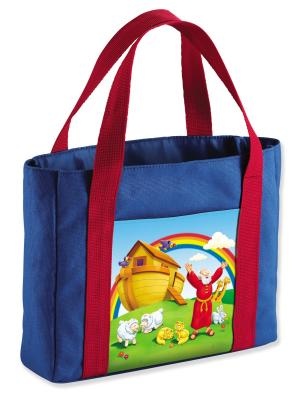 Image for The Beginner's Bible My First Church Bag, Noah's Ark, Medium, Canvas