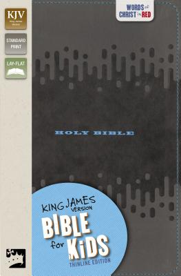 Image for KJV Bible for Kids, Imitation Leather, Charcoal: Thinline Edition