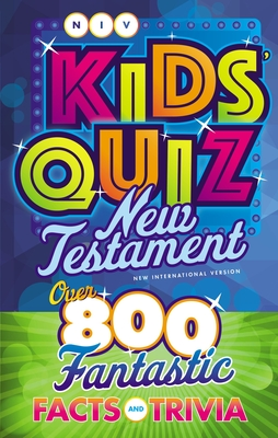 Image for NIV, Kids' Quiz New Testament, Paperback, Comfort Print
