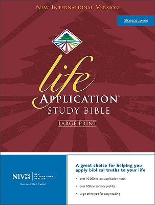 Image for NIV Life Application Study Bible, Large Print, Indexed