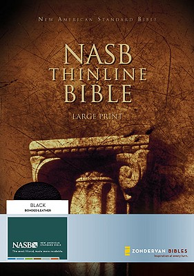 Image for NASB Thinline Bible: Large Print (New American Standard, Bonded Leather, Black)