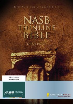 "Image for ""New American Standard Thinline Bible Bounded Leather, Burgundy"""