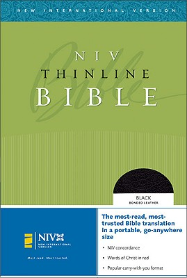 Image for Thinline Bible (New International Version, Bonded Leather, Black, Compact)
