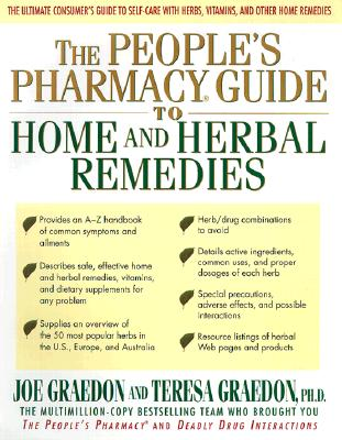 Image for The People's Pharmacy Guide to Home and Herbal Remedies