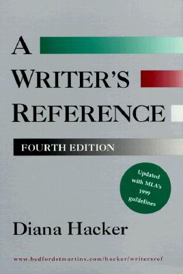 Image for Writer's Reference (with 1999 MLA Update)