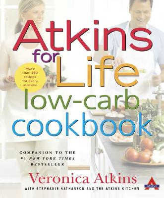 Image for ATKINS FOR LIFE LOW-CARB COOKBOOK