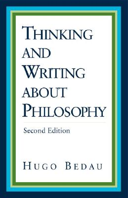 Image for Thinking and Writing about Philosophy