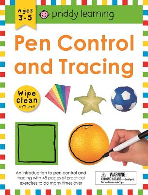Image for Wipe Clean Workbook: Pen Control and Tracing (enclosed spiral binding) (Wipe Clean Learning Books)