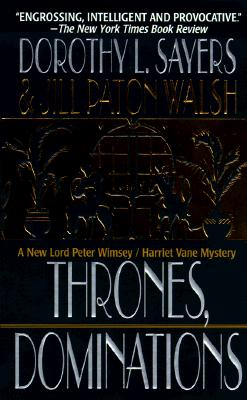 Image for Thrones, Dominations (A Lord Peter Wimsey Mystery)