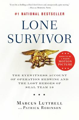 Lone Survivor: The Eyewitness Account Of Operation, Luttrell, Marcus
