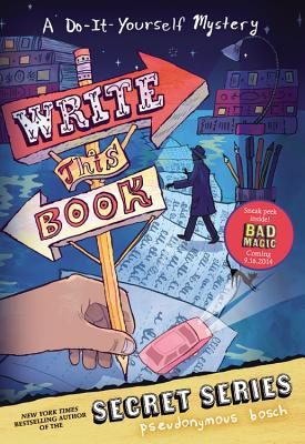 Write This Book: A Do-It-Yourself Mystery, Bosch, Pseudonymous