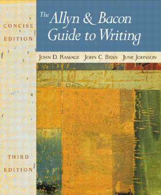 Image for The Allyn & Bacon Guide to Writing, Concise Third Edition