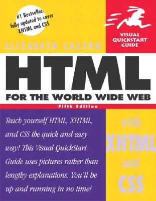 Image for HTML for the World Wide Web with XHTML and CSS, Fifth Edition