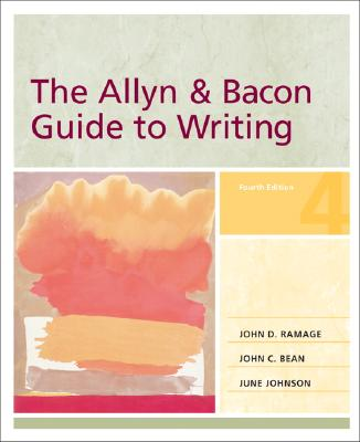 Image for The Allyn & Bacon Guide to Writing, 4th Edition