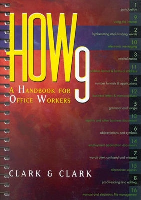 Image for HOW 9: A Handbook for Office Workers