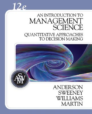 Image for An Introduction to Management Science: Quantitative Approaches to Decision Making (with CD-ROM and Crystal Ball Pro Printed Access Card)