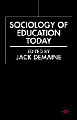 Image for Sociology of Education Today