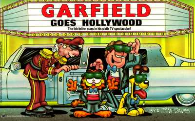 Image for GARFIELD GOES HOLLYWOOD