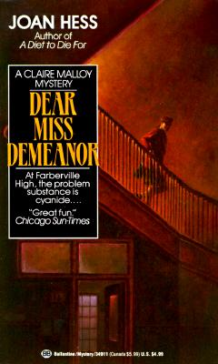 "Image for ""Dear Miss Demeanor (Claire Malloy Mysteries, No. 3)"""