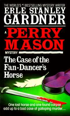 Image for The Case of the Fan-Dancer's Horse