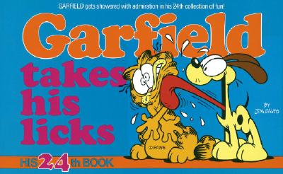 Image for GARFIELD TAKES HIS LICKS   NO 24