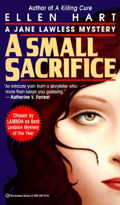 Image for A Small Sacrifice (A Jane Lawless Mystery)