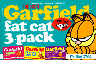 Image for SIXTH GARFIELD FAT CAT 3-PACK