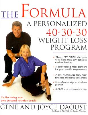Image for Formula : A Personalized 40-30-30 Weight Loss Program