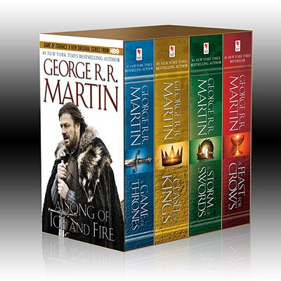 Image for George R. R. Martin's A Game of Thrones 4-Book Boxed Set: A Game of Thrones, A Clash of Kings, A Storm of Swords, and A Feast for Crows