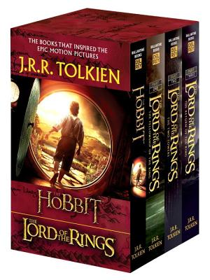 J.R.R. Tolkien 4-Book Boxed Set: The Hobbit and The Lord of the Rings (Movie Tie-in): The Hobbit, The Fellowship of the Ring, The Two Towers, The Return of the King, J.R.R. Tolkien