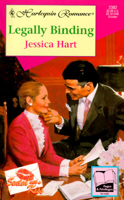 Legally Binding  (Sealed With A Kiss) (Harlequin Romance, No 3382), Jessica Hart