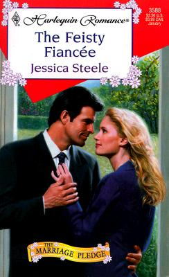 Image for Feisty Fiancee (The Marriage Pledge) (Harlequin Romance, 3588)