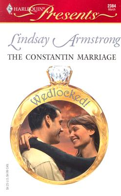 Image for The Constantin Marriage (Harlequin Presents)