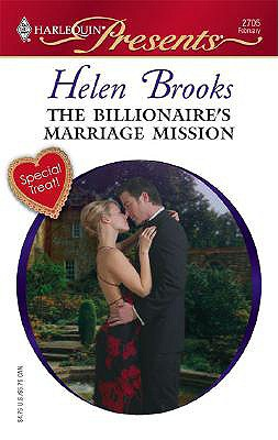 Image for The Billionaire's Marriage Mission (Harlequin Presents)