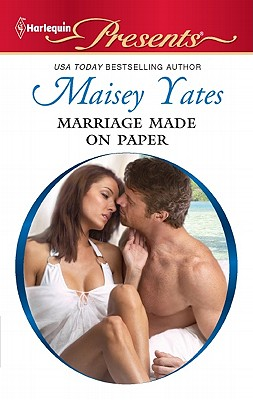 Image for Marriage Made on Paper (Harlequin Presents)