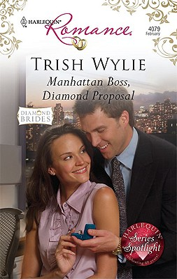 Image for Manhattan Boss, Diamond Proposal (Harlequin Romance)
