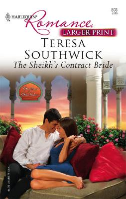 Image for The Sheikh's Contract Bride (Larger Print Romance)