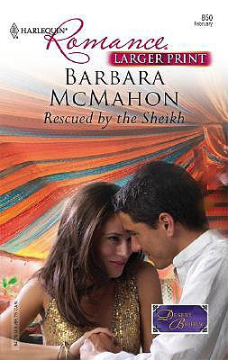 Image for Rescued By The Sheikh (Larger Print Harlequin Romance)