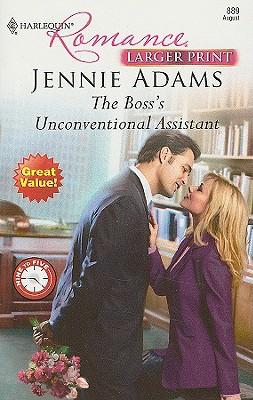 The Boss's Unconventional Assistant (Larger Print Harlequin Romance), Jennie Adams