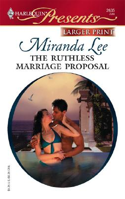 Image for The Ruthless Marriage Proposal (Harlequin Presents: Ruthless)